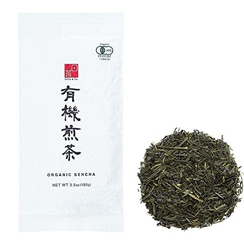 Ocha & Co. Organic Sencha - Loose Leaf Japanese Green Tea - High Grade Sencha Green Tea - Mild, Rich & Refreshing Premium Tea, 100g/3.5oz.