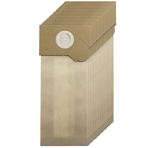 SPARES2GO Sterke Stofzakken voor Wetrok Capawel 350-450 Stofzuiger (Pak van 20)