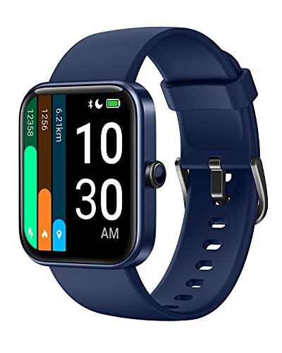 YAMAY Smartwatch Donna Uomo con Saturimetro Alexa Integrata Orologio Fitness Android iOS Contapassi...