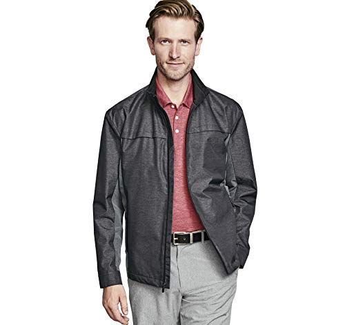 Why Choose Johnston & Murphy Men's XC4 Golf Jacket Charcoal L US