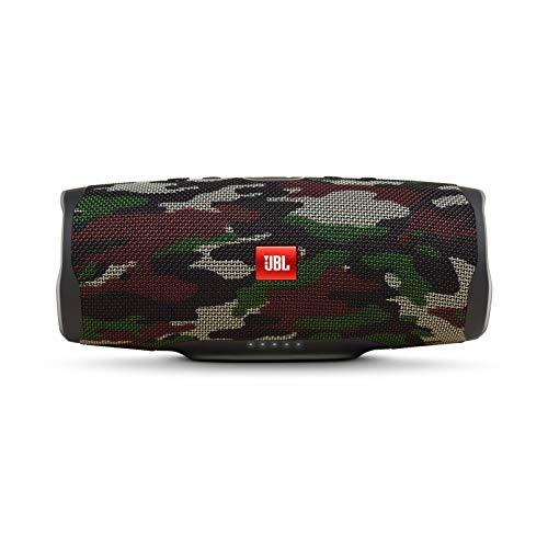 JBL Charge 4 – Alto-falante Bluetooth portátil e à prova d'água – Camuflagem Esquadrão, Alto-falante, Camouflage