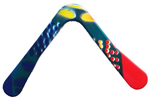 "Great for all ages above 8 years old! A real Aerodynamic boomerang from Australia! Durable construction and Fun! Includes our exclusive ""How to Throw Boomerangs"" Guidebook"