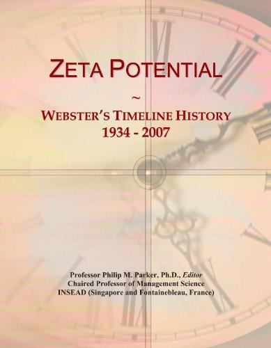 Zeta Potential: Webster\'s Timeline History, 1934 - 2007