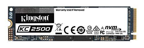 Kingston KC2500 NVMe PCIe SSD - SKC2500M8/1000G M.2 2280