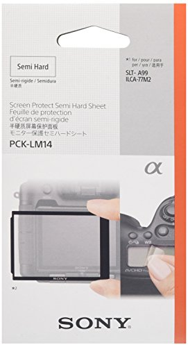 Sony PCK-LM14 LCD Screen Protector for SLT-A99V Camera - Transparent