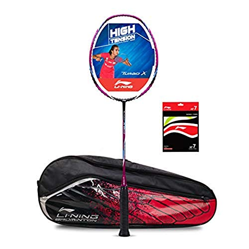 Li-Ning Turbo X 80-II Carbon-Graphite Badminton Racquet with Free...