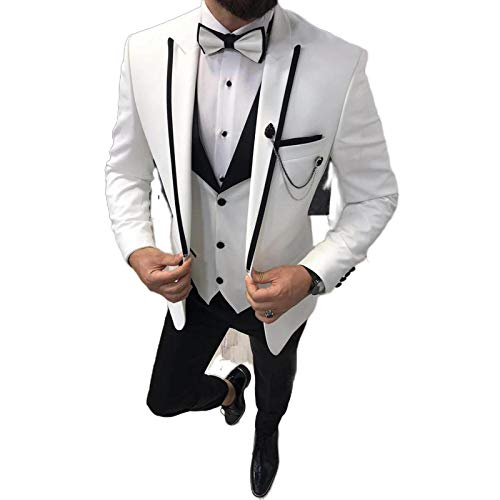 Vestido de fiesta para mujer, estilo casual, para hombre, 3 piezas, diseño de conejo de conejo y chaqueta, color negro azul 5XL/1 pachetto