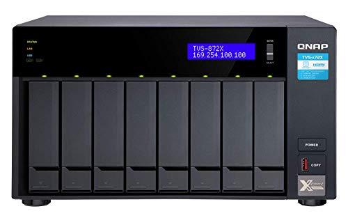 QNAP TVS-872X-i3-8G 8-Bay NAS