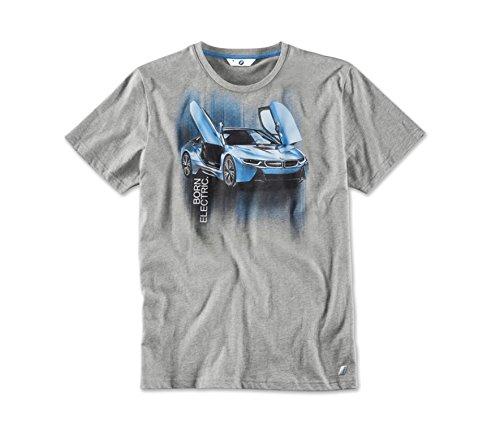 BMW Original i T-Shirt i8 Druck, Herren - Kollektion 2016/2018 - Größe XXL