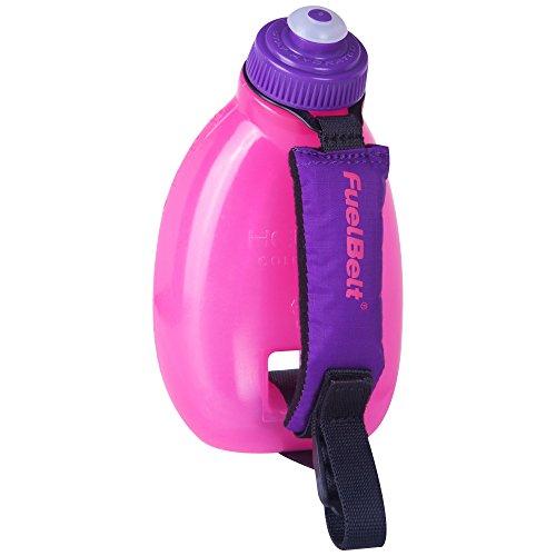 FuelBelt Hand-Flaschen-Halter Helium Sprint Palm Holder, Pink/Grape