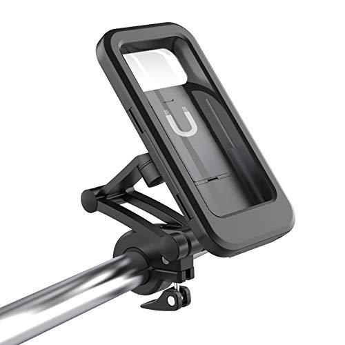 TIANkuo La última Tendencia Pantalla táctil Bicicleta Manillar Impermeable Box teléfono móvil Soporte de navegación
