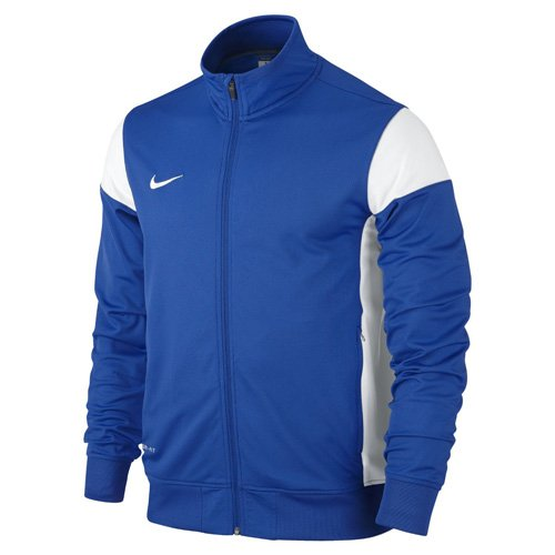 Nike Kinder Sweatshirt Sideline Knit Trainingsjacke, Royal Blue/White, XL