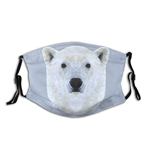 The Polar Bear Mouth Scarf Face Scarf Bandana Headwear