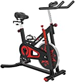 Exercise Bike Indoor Cycling Bike Stationary Bicycle with Resistance Workout Home Gym CardioFitness Machine Upright Bike