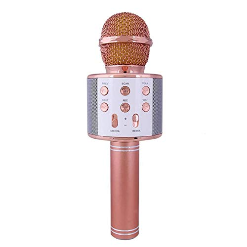 KoelrMsd PC-Mikrofon Drahtloses Mikrofon Professioneller Kondensator Karaoke Mic...