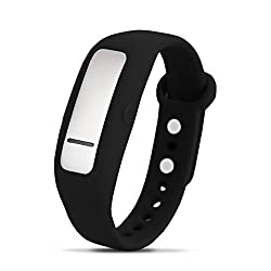 HabitAware Keen: Trichotillomania (Hair Pulling), Dermatillomania (Skin Picking), and Nail Biting Smart Awareness Tracker – Black M/L