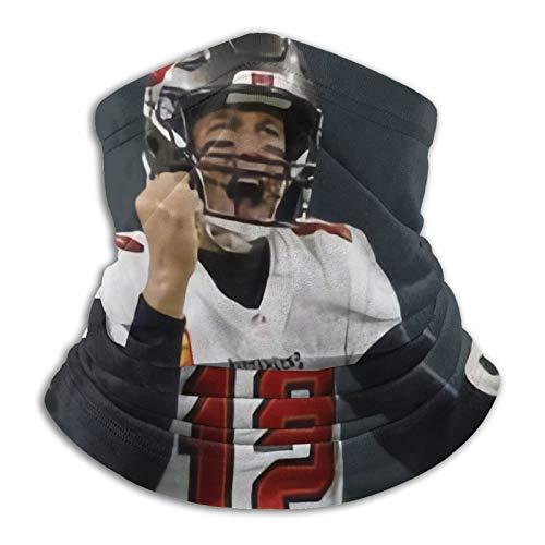 Tom Brady Pasamontañas para el cuello, bandana mágica bufanda para la cara, a prueba de polvo, para hombres y mujeres, deportes al aire libre, motocicletas, ciclismo, montañismo