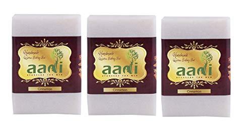 Aadi. Cinnamon Luxury Handmade Bathing bar with the Finest Ayurvedic Ingredients