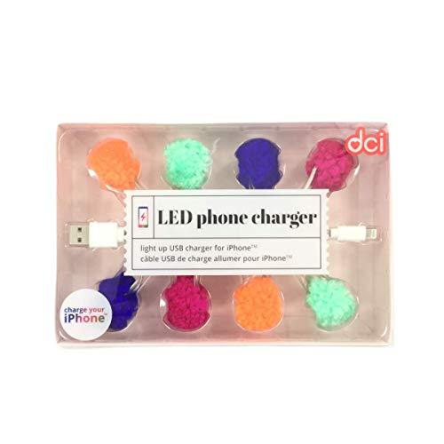 Cable USB de Carga para iPhone 5/6/7, 6 ledes, Carga rápida, para...