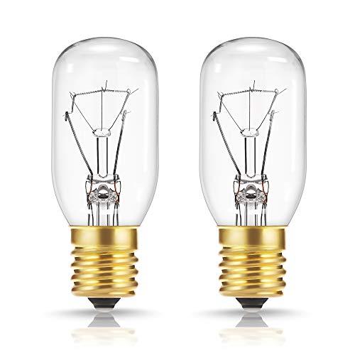 40 Watt Appliance Light Bulb, DORESshop T8 Tubular Incandescent Light...