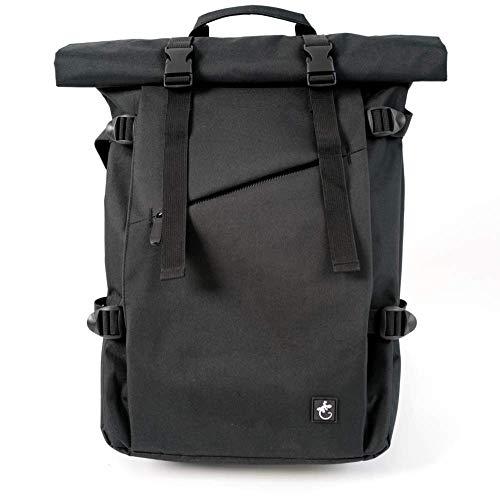 Black RollTop backpack Gecko Equipments