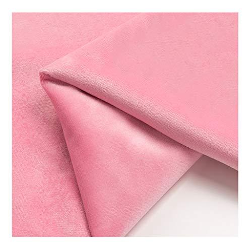 yankai Baumwollstoff 100% Stoff Stoff einfarbig Vorhang Kissen Samt Gold Samt Plüsch Rock Kleid Breite 1,55M NIU