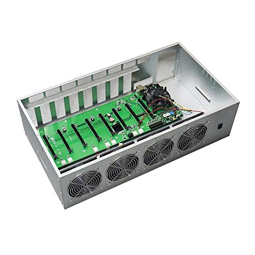 DBG Heißer ETH ETH Etheeum Mining Machine Motherboard 580 8 GB GPU Grafikkarten Mining Rig Fall Box 8 GPU Case Bitcoin Mining Case