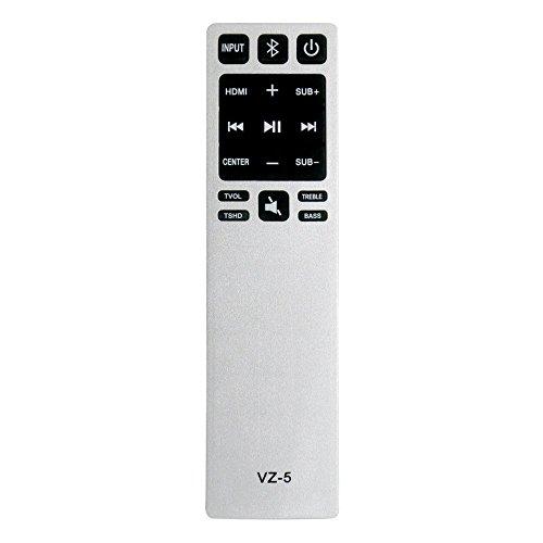 Gvirtue Universal Sound Bar Remote Control Compatible Replacement for Vizio Sound Bar/ Home Theater Sound Bar Remote, Applicable S3820W-C0 S2920W-C0 S3821W-C0 SB3830-C6M SB3831-C6M