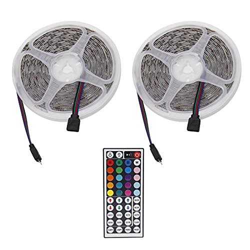 Wosune Tira de Luces RGB, Tira de Luces LED Control de un botón con función de Memoria para iluminación Interior para decoración del hogar