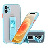 ZCDAYE Case for iPhone 12,Metal Vertical & Horizontal