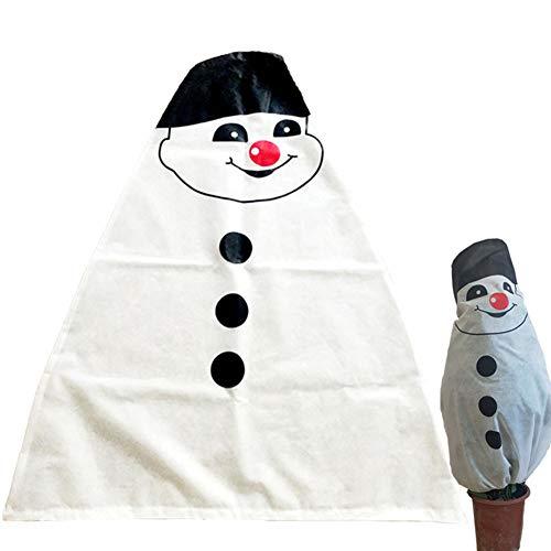 Home For Winter Warme Silvester Weihnachtsbaumdecke Pflanzenabdeckung Halloween Totenkopf Frostschutz Gartendekoration Alte Jungen