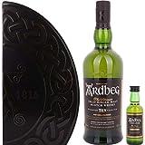 Ardbeg 10 Years Old QUADRANT Limited Edition Whisky mit Geschenkverpackung mit Uigeadail Miniatur (1 x 0.75 l)