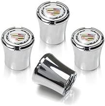 CzlpV 4 Pcs Tire Valve Stem Caps For Cadillac