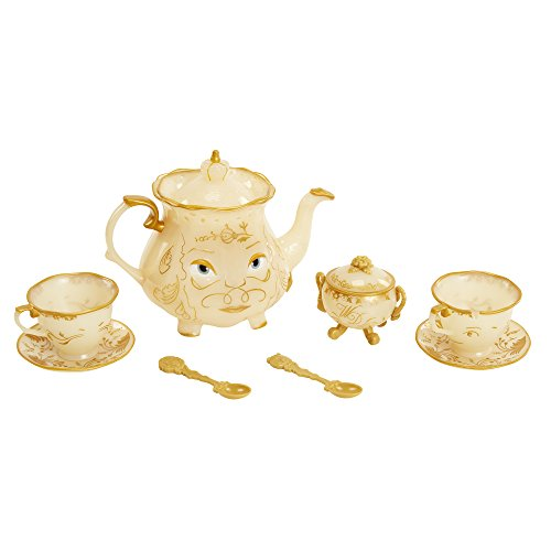 Disney Beauty & The Beast Live Action Enchanted Tea Set Playset