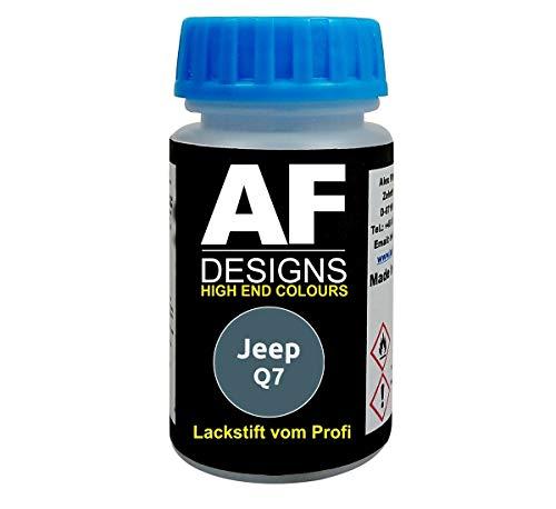Lackstift für Jeep Q7 Gunmetal Metallic schnelltrocknend Tupflack Autolack
