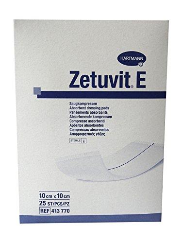 Zetuvit E sterile Wundkompresse, 10x 10 cm