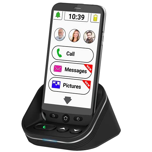 Amplicomms M50 Big Button Mobile Phones for Elderly- Smartphone for Elderly...