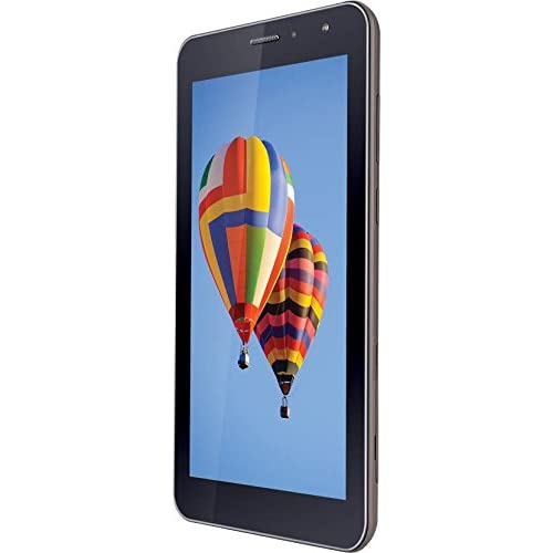 iBall Slide Mania Tablet (7 inch, 8GB, Wi-Fi + 4G LTE + Voice Calling), Coffee Grey