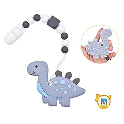 JNATER Sensory Chew Necklace Bundle for Kids with Teething, ADHD, Autism, Biting Needs, Oral Motor Chewy Teether Toys, Made from Food Grade Silicone Safety, for Boys&Girls