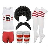 118 FANCY DRESS Mens Ladies costume COMPLETE SET Marathon Retro outfit 38 chest by PAPER...