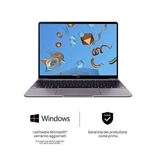 Huawei Matebook Notebook FullView 13 Zoll 256 GB grau - 2