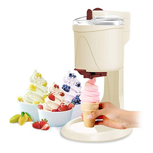MNCYGJ Eismaschine Mit Kompressor Softeismaschine Für Zuhause Ice Cream Machine 1L Aluminiumfolie in Lebensmittelqualität Slush EIS Maschine Frozen Yogurt Maschine Eismaschine