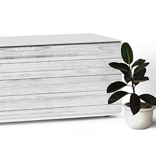 Vinilos para Muebles con Diseño de Madera Vintage, 40 x 200 cm, Papel Adhesivo para Muebles del Hogar, Cocina y Oficina | Papel Pintado Vinílico para Muebles, Pared y Cristal