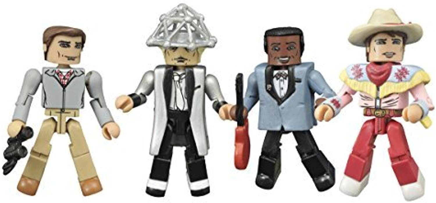 Diamond Select Toys Back to the Future  30th Anniversary 1955 Minimates Action Figure Box Set Action Figure by Diamond Select