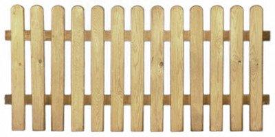 20% Rabatt auf ALLES!!! StaketenZaun 'Premium' 180x85/85cm - gerade – kdi / V2A Edelstahl Schrauben verschraubt - aus getrocknetem Holz glatt gehobelt – gerade Ausführung - kesseldruckimprägniert