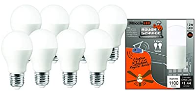 MiracleLED Rough Service Led 100W Household Replacement Light Bulb
