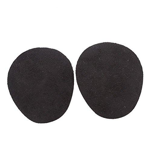 Boowhol-Flanelle éponge Avant-Pied Pad Demi-Taille Haut Talon Pad Femelle Pied Protecteur Avant Anti-dérapant Amortisseur Semelle intérieure (1 Paire)