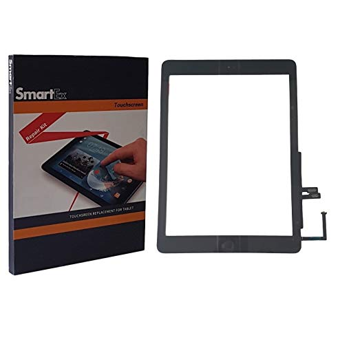 Smartex® Scherm compatibel met iPad 6 (2018), Zwart/Display Touch screen Digitizer