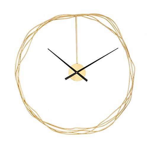 GLJ Simple Art Wall Clock, Living Room Wall Decoration Clock, Modern Silent Non-Ticking Quartz Clocks (Size : 89.5 * 91cm)