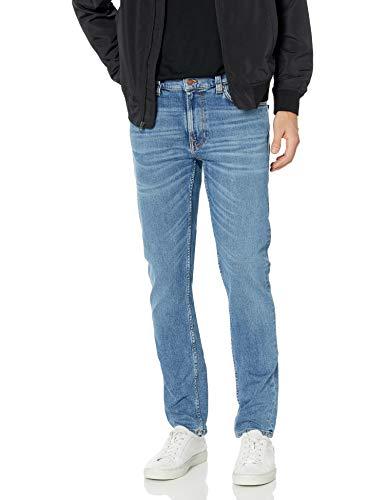 Nudie Jeans Unisex-Erwachsene Lean Dean Lost Orange Jeans, 33W x 32L